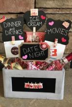 soiree date night basket