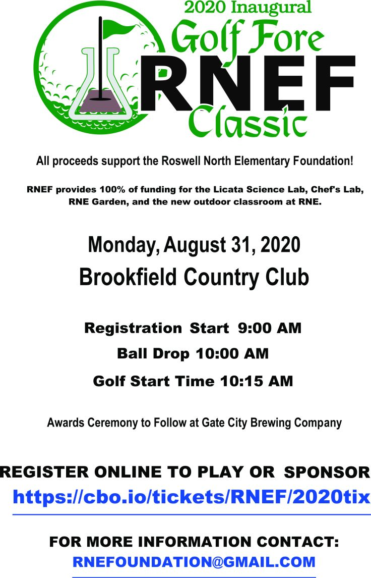 Foundation Golf Flyer Roswell North August 2020 PAGE 1